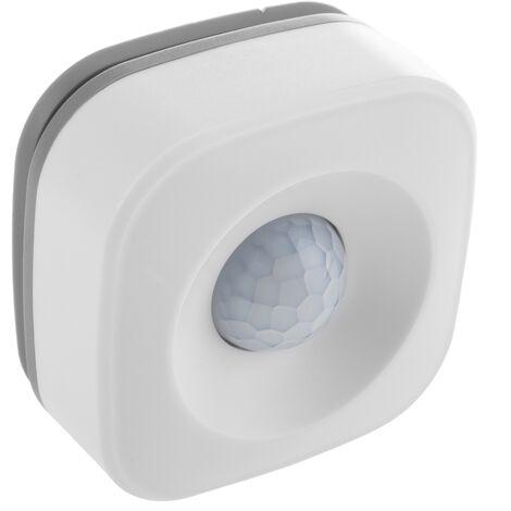 BeMatik - Sensor de Movimiento PIR WiFi compatible con Google Home, Alexa y IFTTT