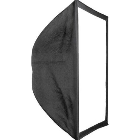 BeMatik - Softbox rectangular 60x60 cm for photo studio Light diffuser window