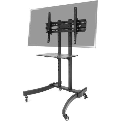 "BeMatik - Soporte de pie con ruedas para pantalla plana TV LED LCD de 37""-70"" 1250mm"