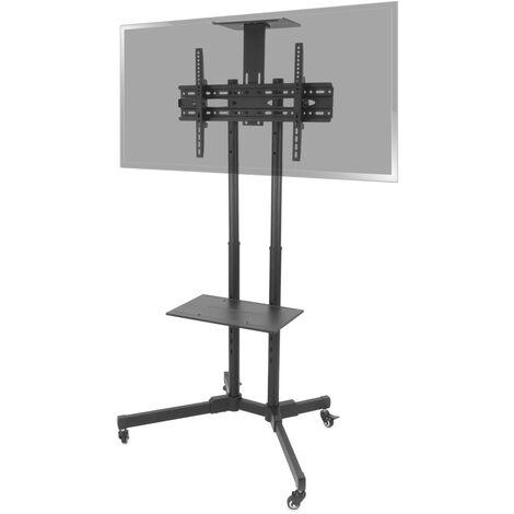 "BeMatik - Soporte de pie con ruedas para pantalla plana TV LED LCD de 37""-70"" 1803mm"