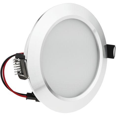 BeMatik - Spot encastrable LED 18W 155-170mm blanc jour froid