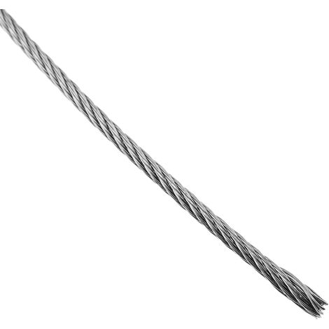 BeMatik - Stainless steel cable 1.5 mm. Reel of 25 m lenght