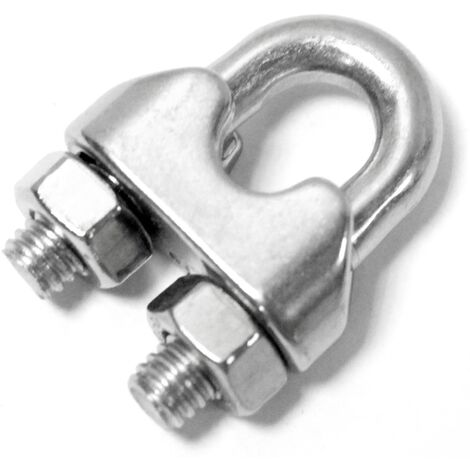 BeMatik - Stainless steel cable clip 1.5 mm