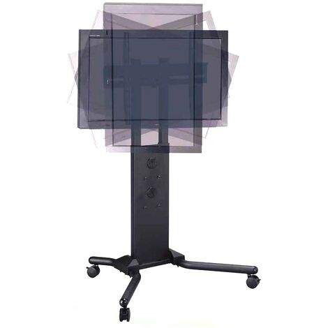 "BeMatik - Support stand with wheels to screen 32"" to 56"" (PLAB-104"