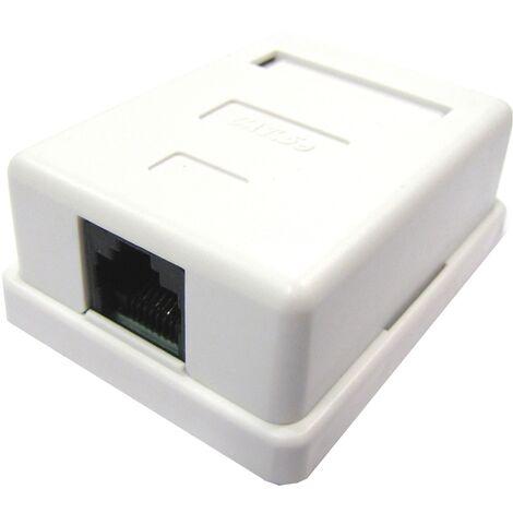 BeMatik - Surface Box 1 RJ45 UTP Cat.5e