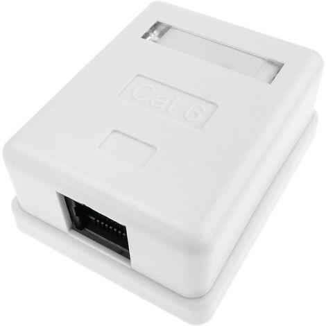 BeMatik - Surface Box 1 RJ45 UTP Cat.6