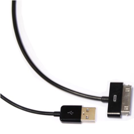BeMatik - Sync and Charge Cable for iPOD iPhone and iPad USB 1.8m black
