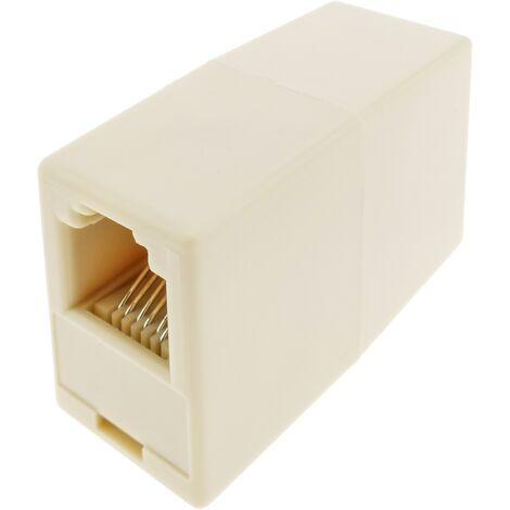 BeMatik - Telephone Cable Splice RJ11/RJ12 F/F (6P6C)