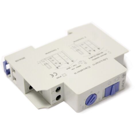 BeMatik - Temporizador electronico para carril DIN 35mm