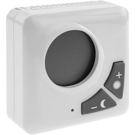 BeMatik - Termostato Electrónico Digital con visor LCD