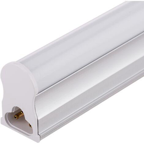 BeMatik - Tubo LED T5 230VAC 18W blanco cálido 3000K 16x1200mm