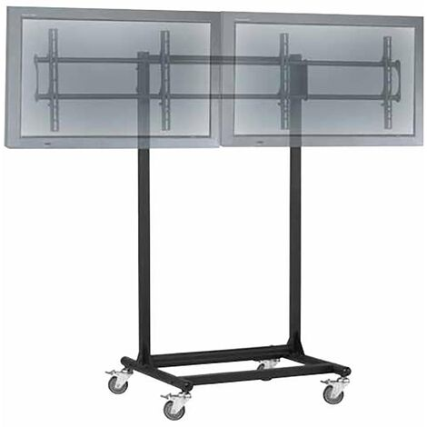 "BeMatik - TV stand for 2 screens horizontally 32 ""- 56"" VESA 600x400 mm"