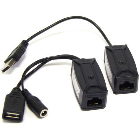 BeMatik - USB 1.1 Extension Cable AM -> 1xAH (UTP 300m)