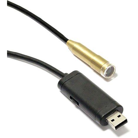 BeMatik - USB Camera borescope endoscope 640x480 5m