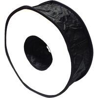 BeMatik - Ventana difusora circular para flash speedlite de 45cm tipo anillo