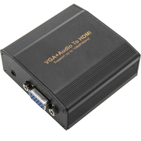BeMatik - VGA et Audio vers HDMI Converter