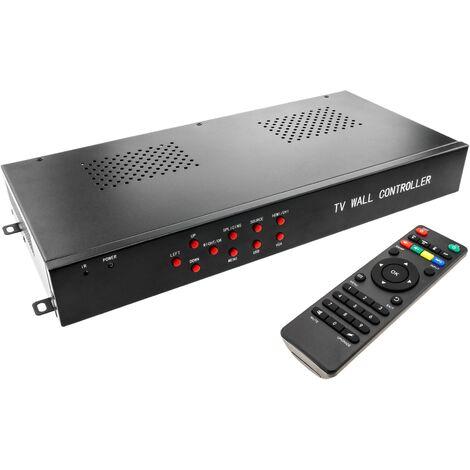 BeMatik - Videowall matriz de vídeo de 9 pantallas 3x3 HDMI DVI CVBS VGA