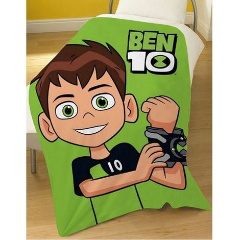 Ben 10 Hero Fleece Blanket (One Size) (Multicoloured)