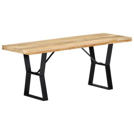 Bench 110 cm Solid Mango Wood
