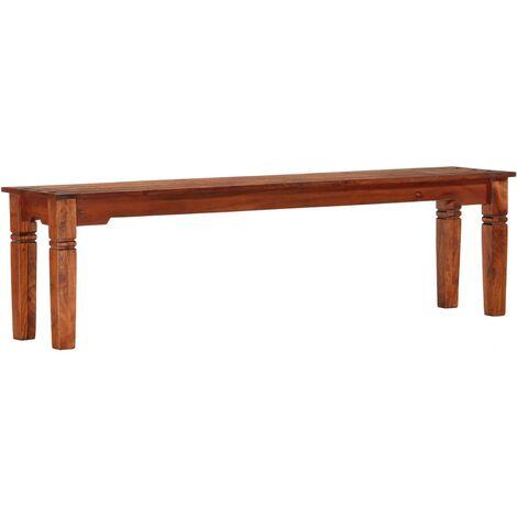 Bench 160 cm Solid Acacia Wood