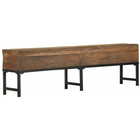 Bench 160 cm Solid Reclaimed Wood