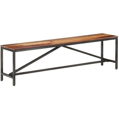 Bench 160 cm Solid Sheesham Wood