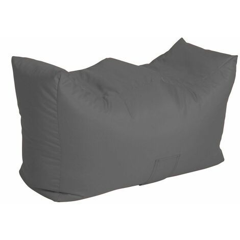 Bench Bean Bag Water Resistant with Beans Filling, 90 x 50 x 47 cm - Orange