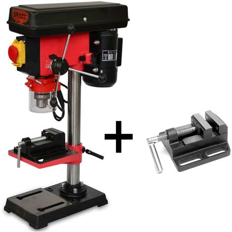 Bench Drill 500W, 220V, 12 Speed Levels, Height 820mm, 400-2500 Rpm, Max Drilling Diameter 16mm