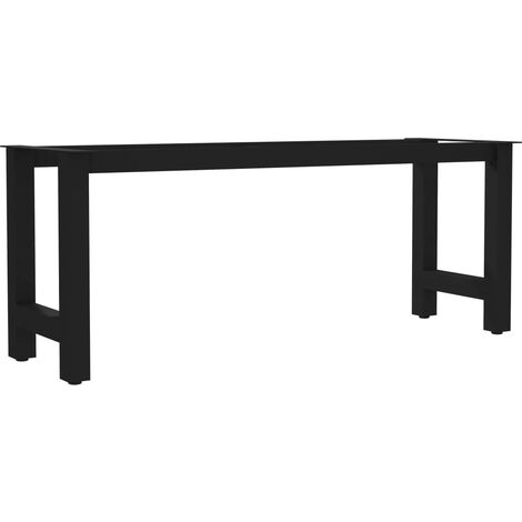 Bench Leg H Frame 105x36x42 cm