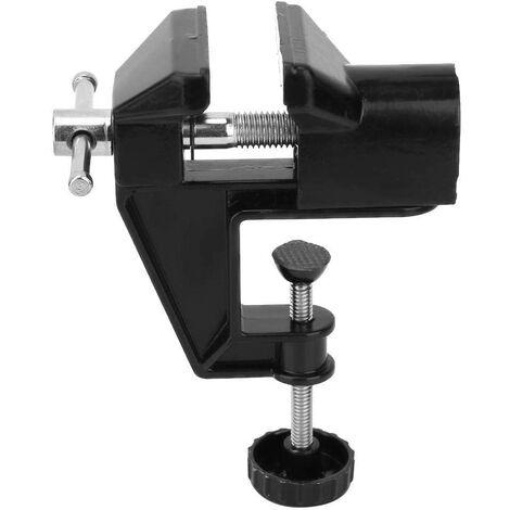 "main image of ""Bench Vice Mini Aluminium Alloy Table Vice 360 Degree Rotation Household Clamp Umge Machine Tool Universal Work"""