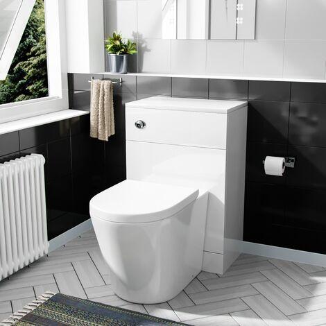 "main image of ""Benson 500mm WC Unit & BTW Round Toilet Pan"""