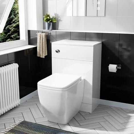 Benson 500mm WC Unit & BTW Square Toilet Pan