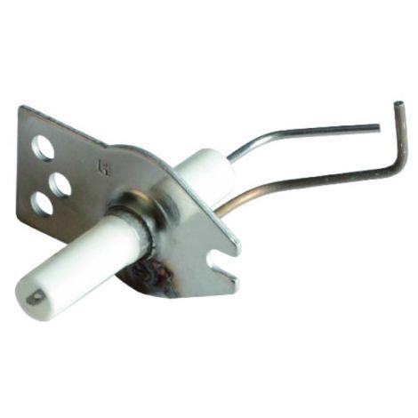 Bent electrode for burner - ACV : 537DX031