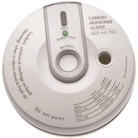 BENTEL BW-COD Carbon monoxide detector with internal siren