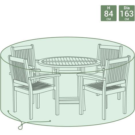 Bentley - Bâche ronde pour salon de jardin - taille moyenne - FURNCOVER1