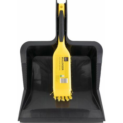 Bentley Brushware Bulldozer Heavy Duty Dustpan & Brush Set