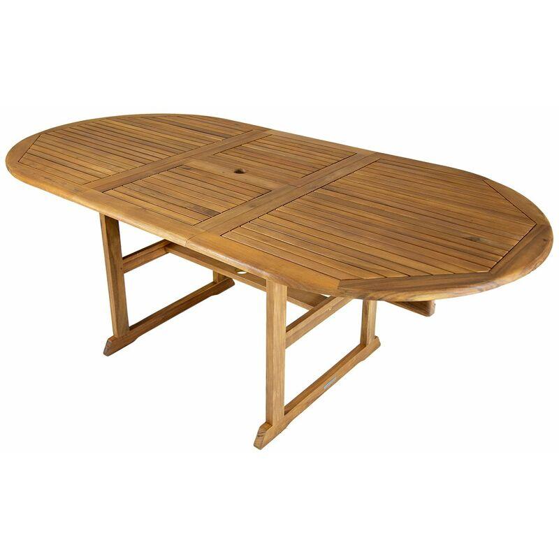 Bentley Garden Gartentisch Aus Holz Ausziehbar Gross Oval