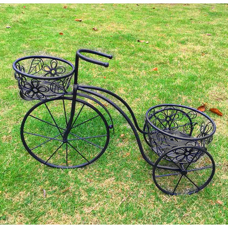 Bentley Garden Wrought Iron Decorative Penny Farthing Tricycle