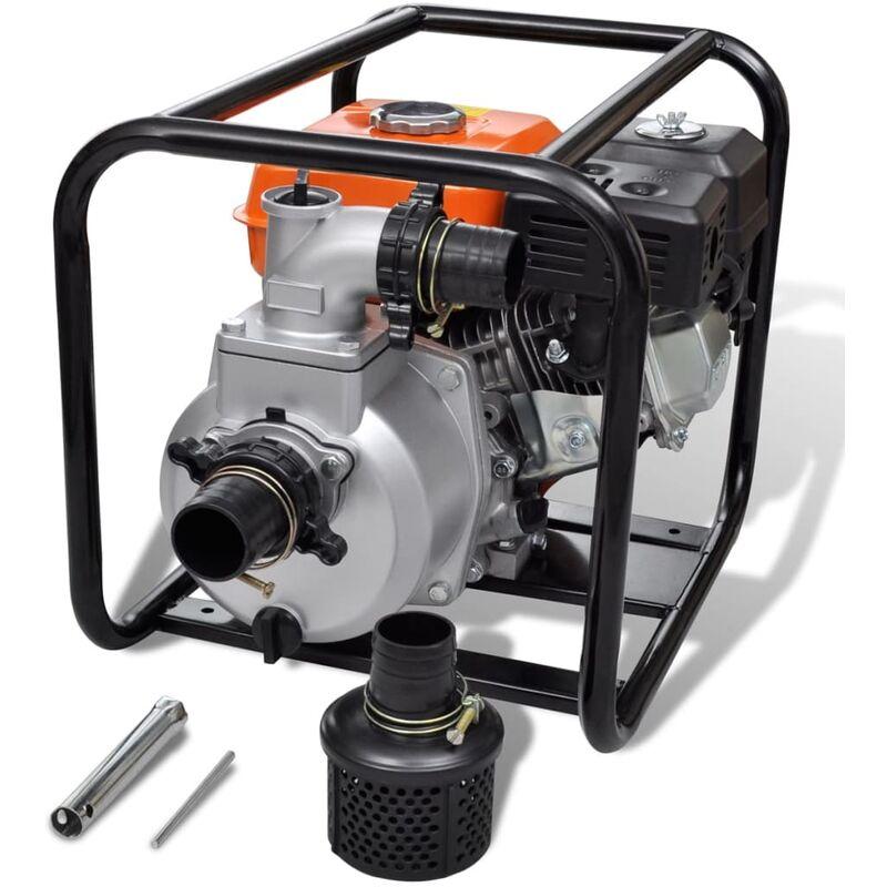 Wasserpumpe Benzinbetriebene Motorpumpe Teichpumpe Gartenpumpe 1,45 kw 0,95l DE