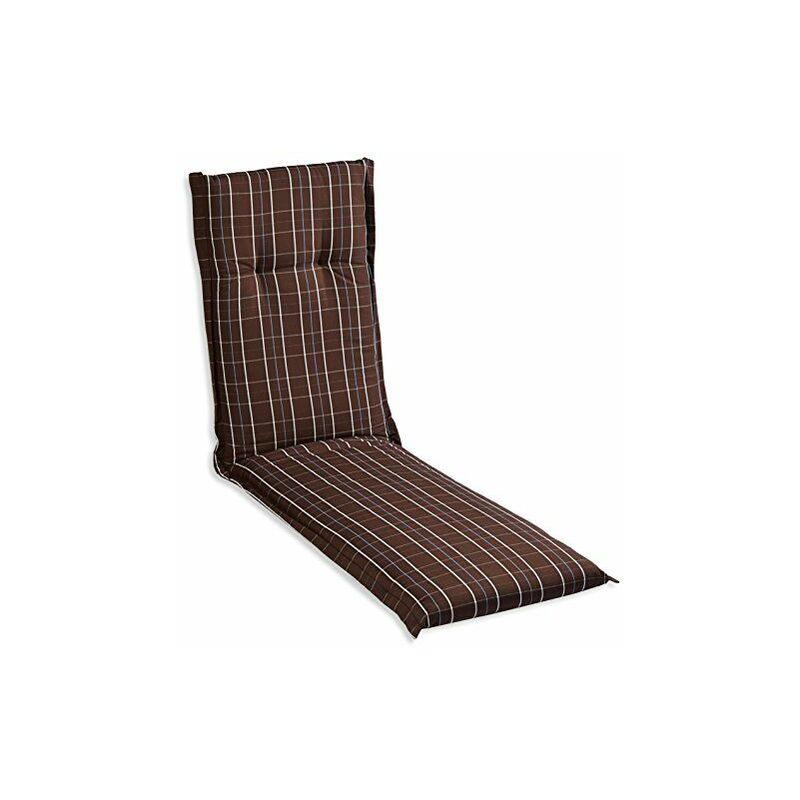 D203Anja re Coussin avec bordure pour fauteuil relax de jardin, Env. 52x 174cm paisseur Env. 7cm - BEO