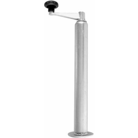 Béquille ajustable pour remorque D48 mm 40 - 65 cm ProPlus 341517