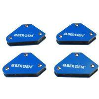 BERGEN 4 Piece Mini Welding Magnet 6680