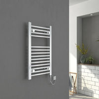Bergen Straight Chrome Electric Heated Towel Rail