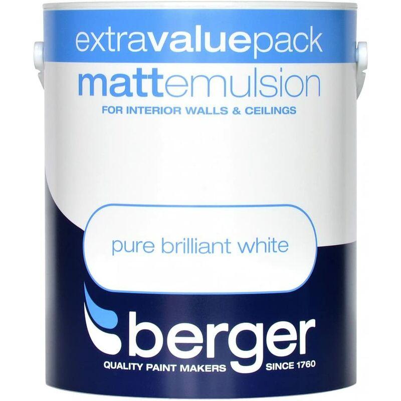 Image of Berger Vinyl Matt 3L White