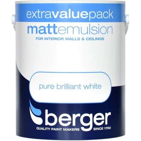 Berger Vinyl Matt 3L White