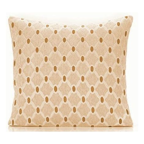 """Berkeley 18"""" Cream Cushion Cover Bed Sofa Accessory Unfilled"""