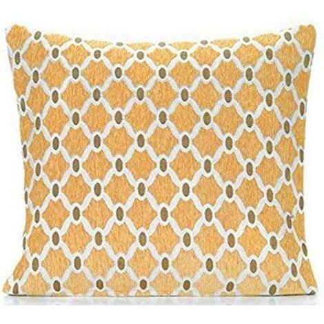 """Berkeley 18"""" Gold Cushion Cover Bed Sofa Accessory Unfilled"""