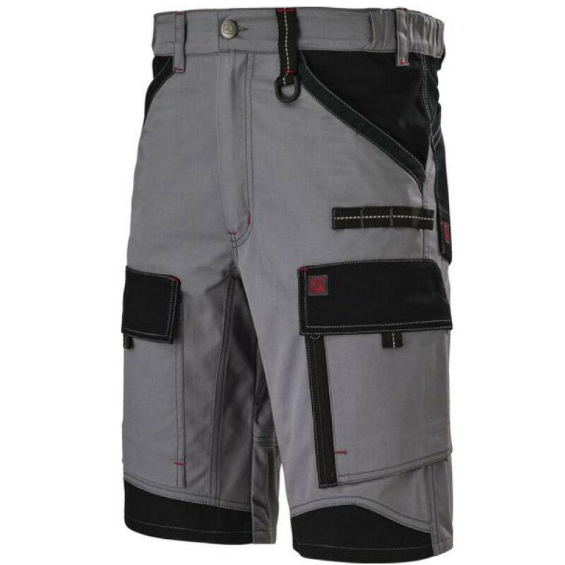 bermuda crusher gris fonce/ noir t2