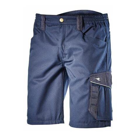 BERMUDA DE TRAVAIL DIADORA POLY AVEC POCHES BLEU - 161758600620 - Taille vêtement - 46/48 (XL) - Bleu