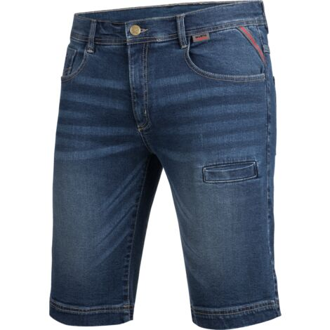 Bermuda de travail en Jeans Stretch X Würth MODYF